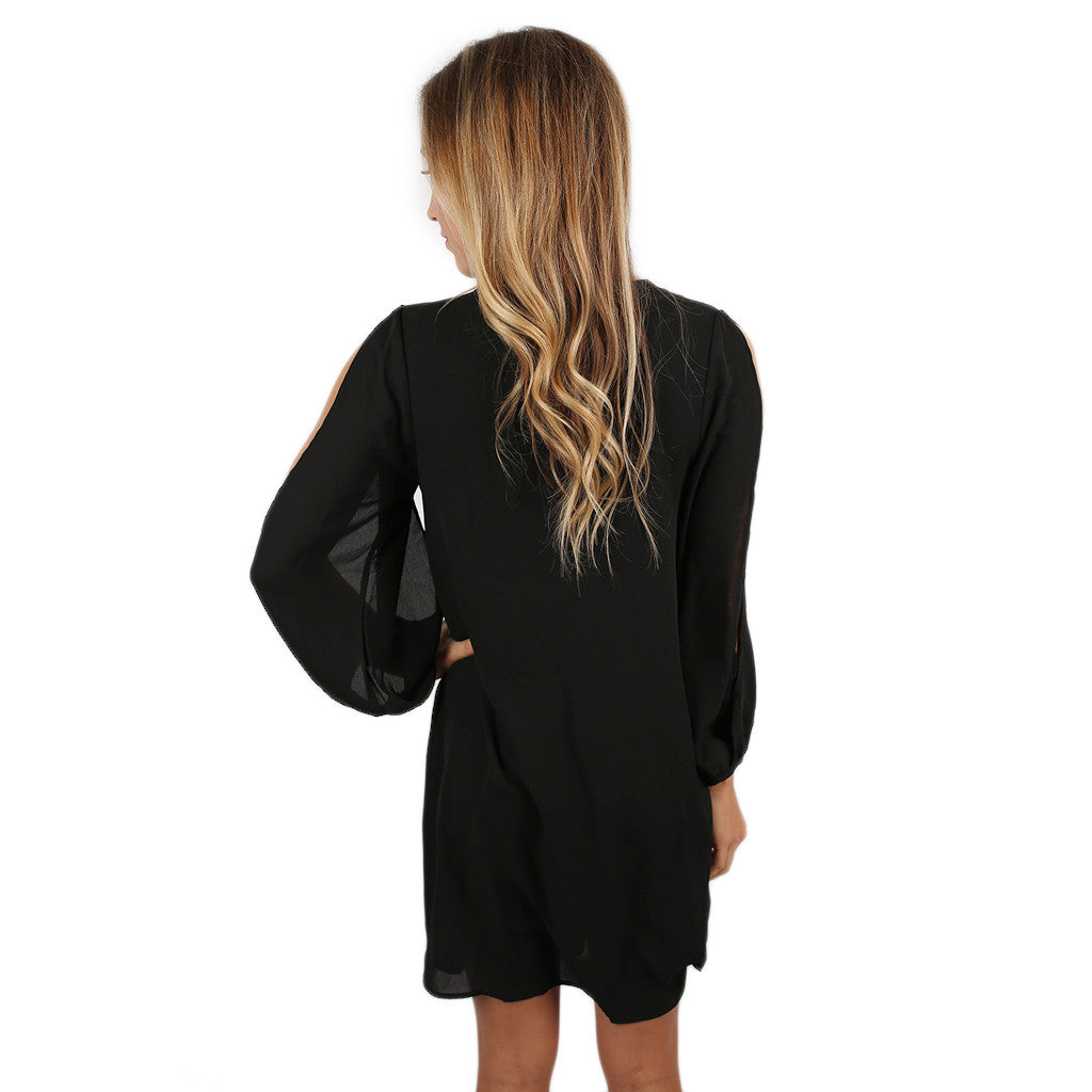 So Smitten Dress in Black