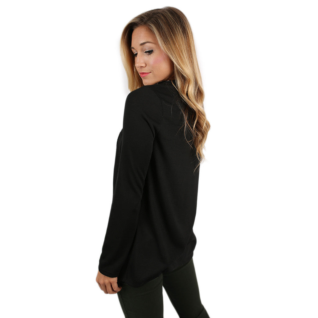Shine So Bright Cardi Black