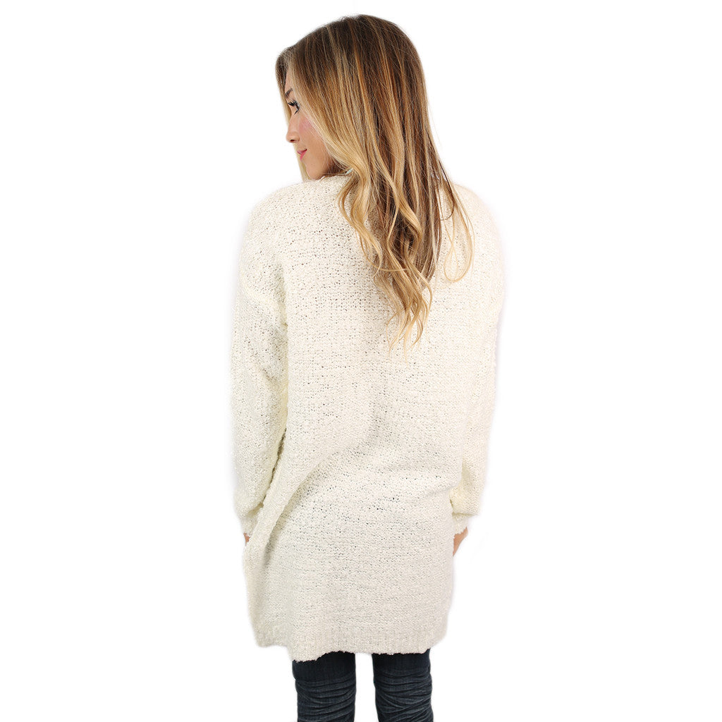Vail Vacay Sweater in Ivory