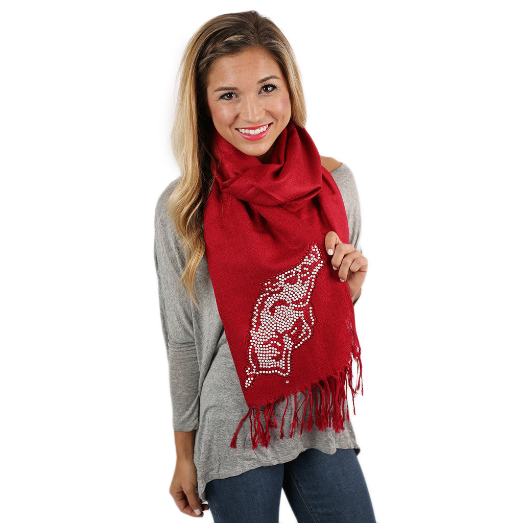Sequin Pashmina Arkansas Scarf