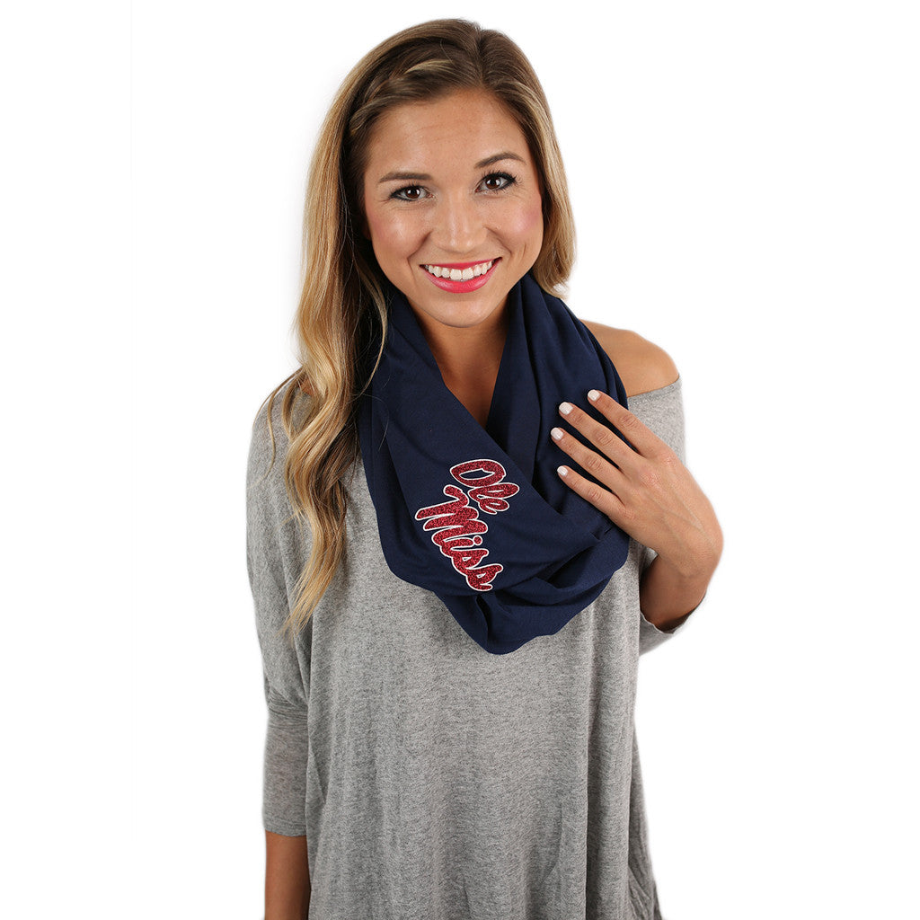 Infinity Scarf Ole Miss