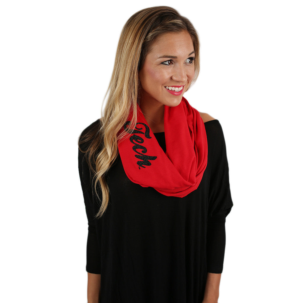 Infinity Scarf Texas Tech