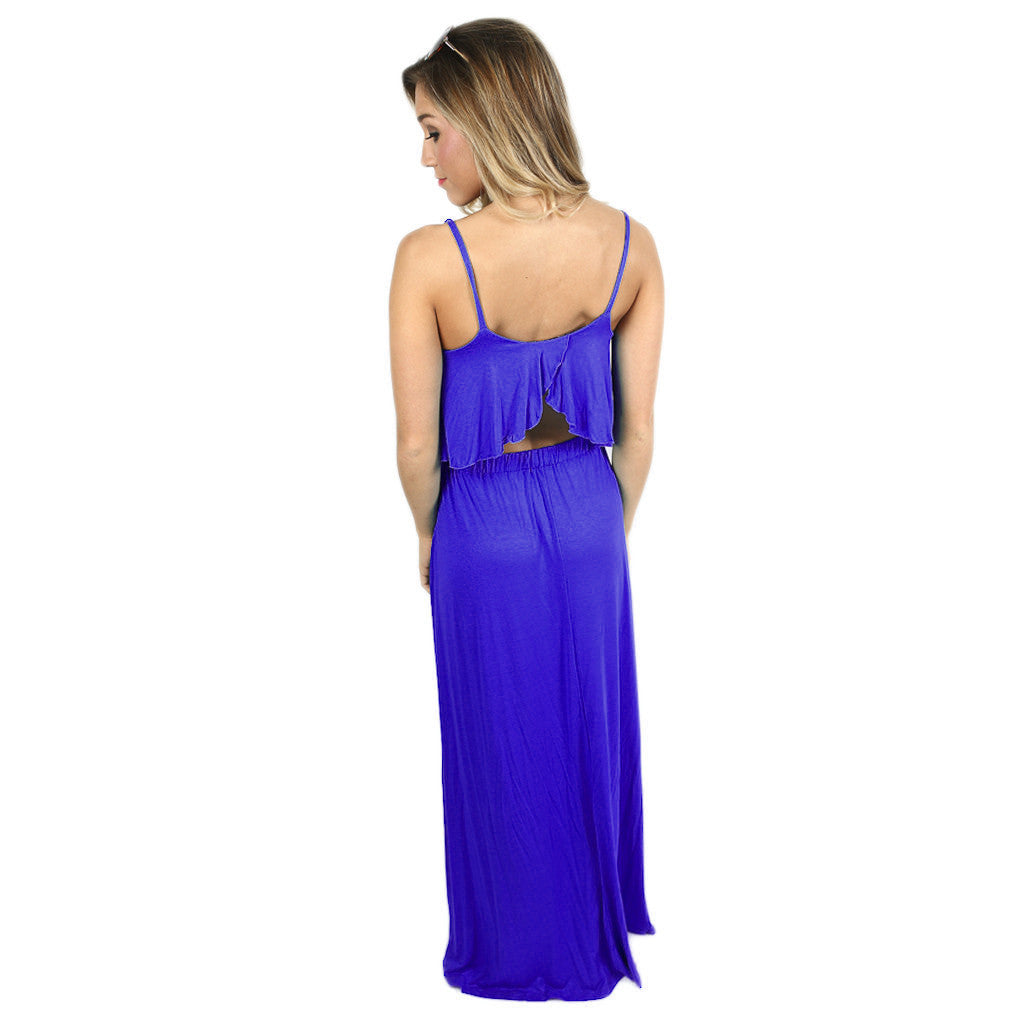 Summer Fling Maxi Royal
