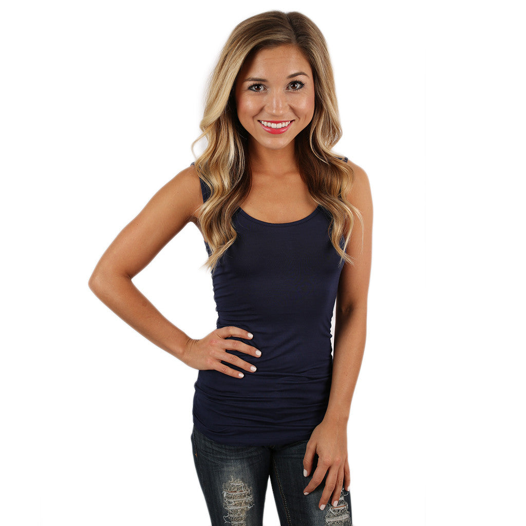 Impress Basic Tank in Navy