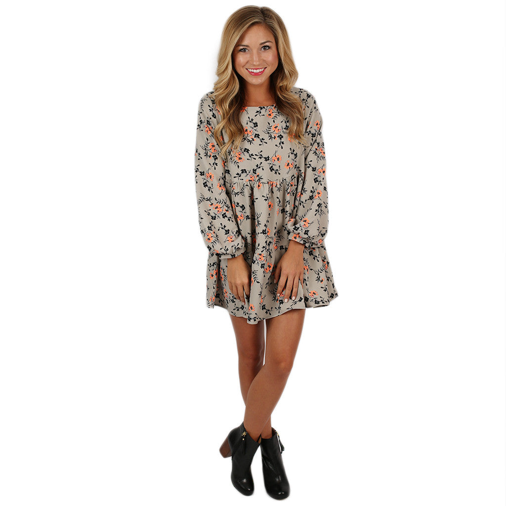 Fall Into Winter Babydoll Dress