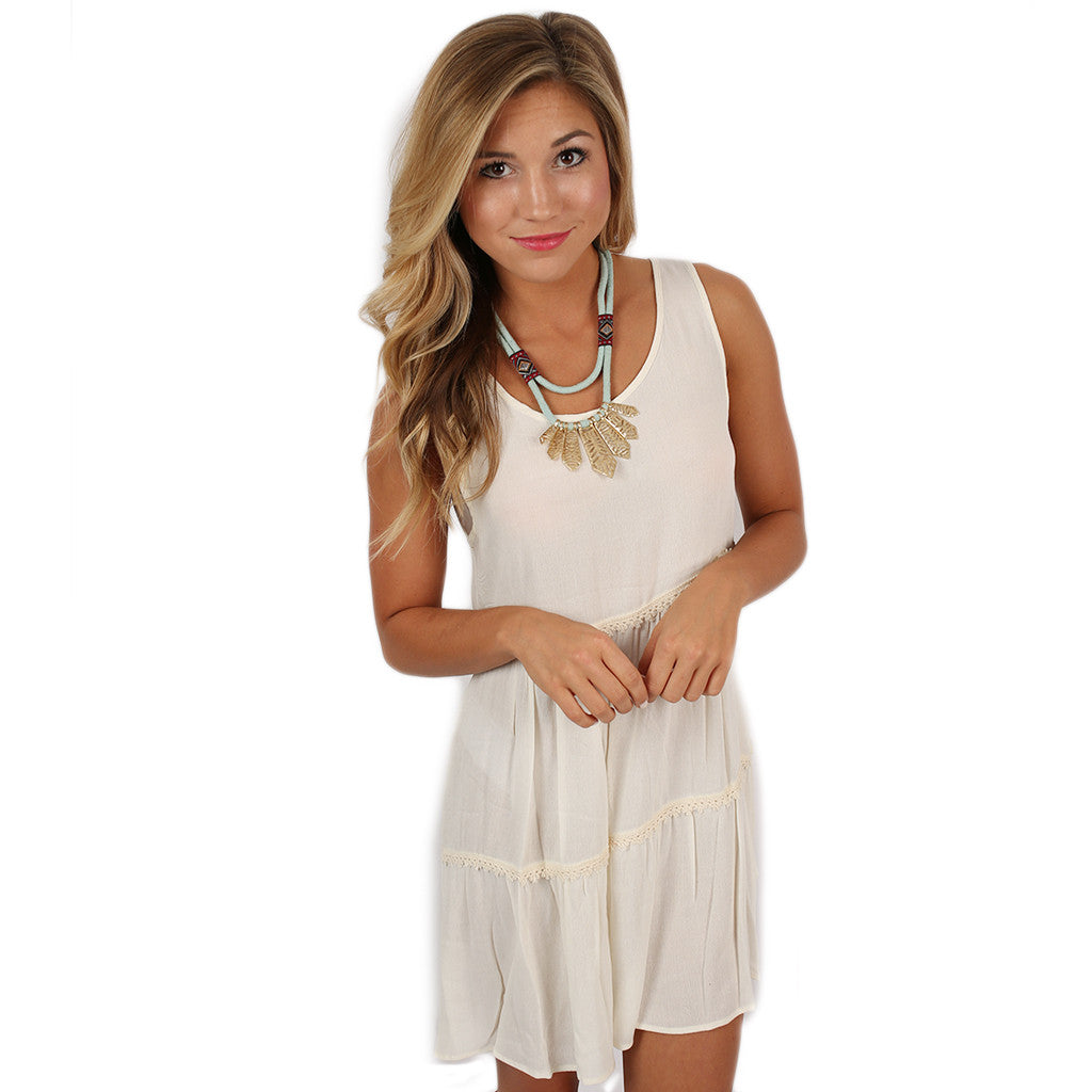 Tiered Transitional Babydoll Dress