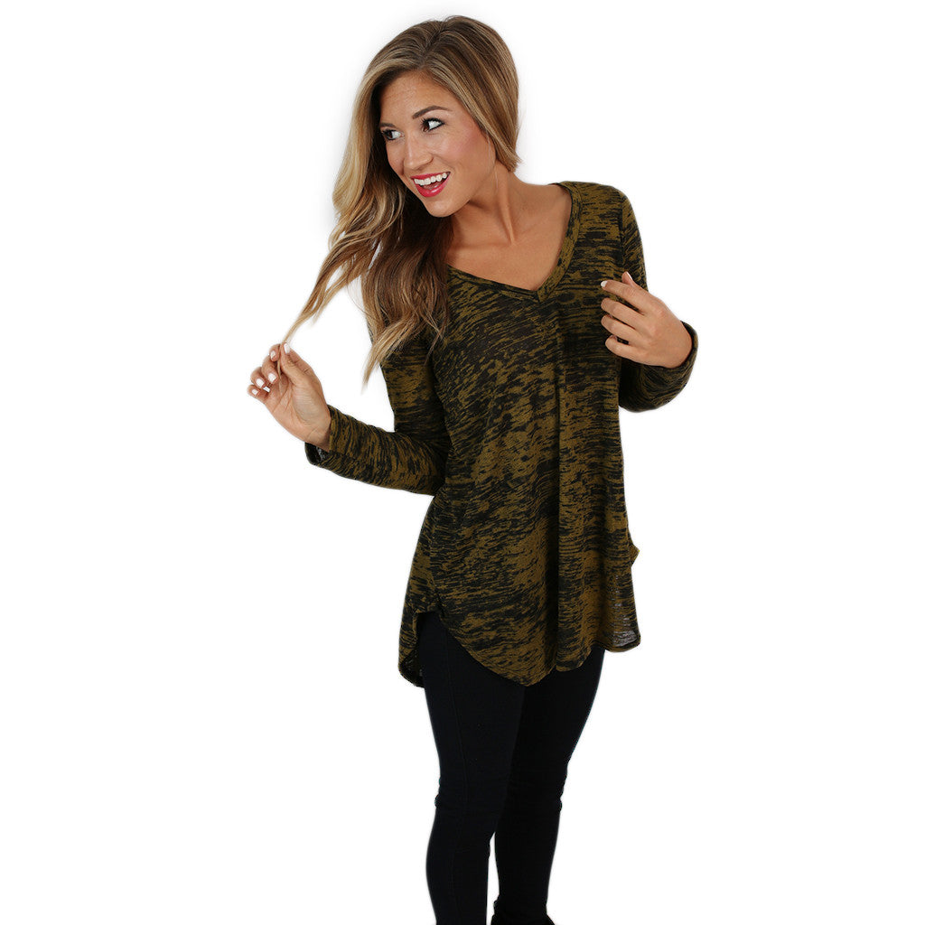 Out of This World Top Olive