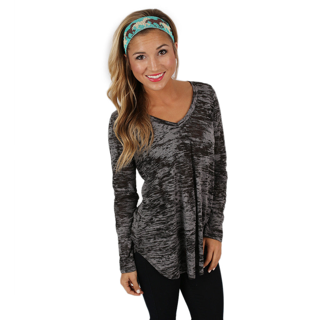 Out of This World Top Charcoal