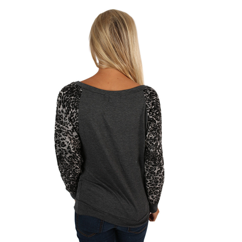 Leopard Sweater University of Alabama