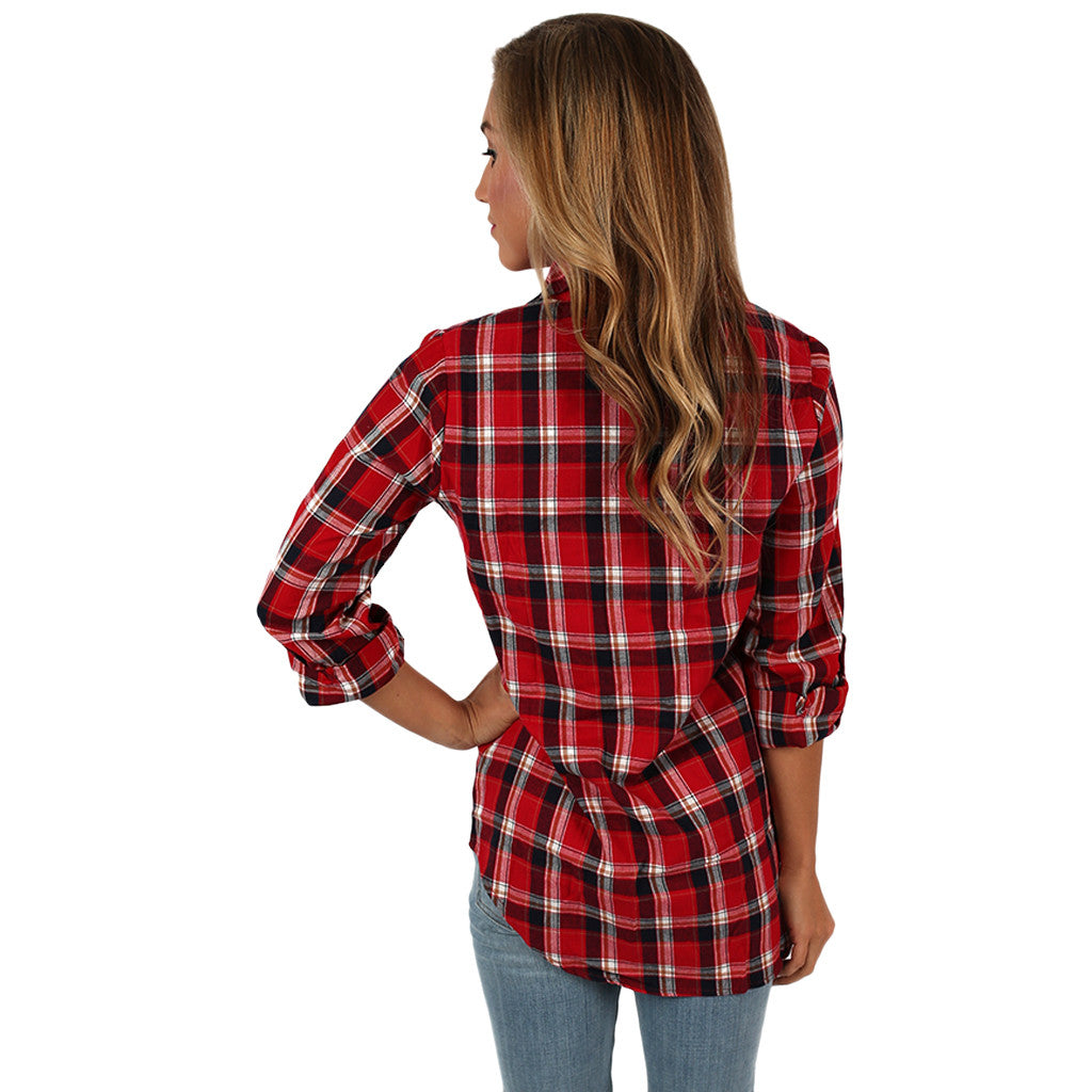 Southern Mindset Top Red