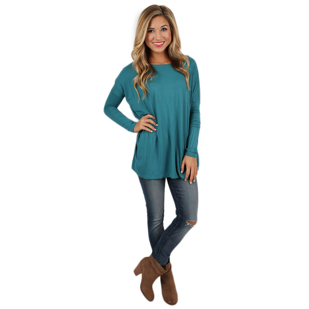 PIKO Tee in Teal