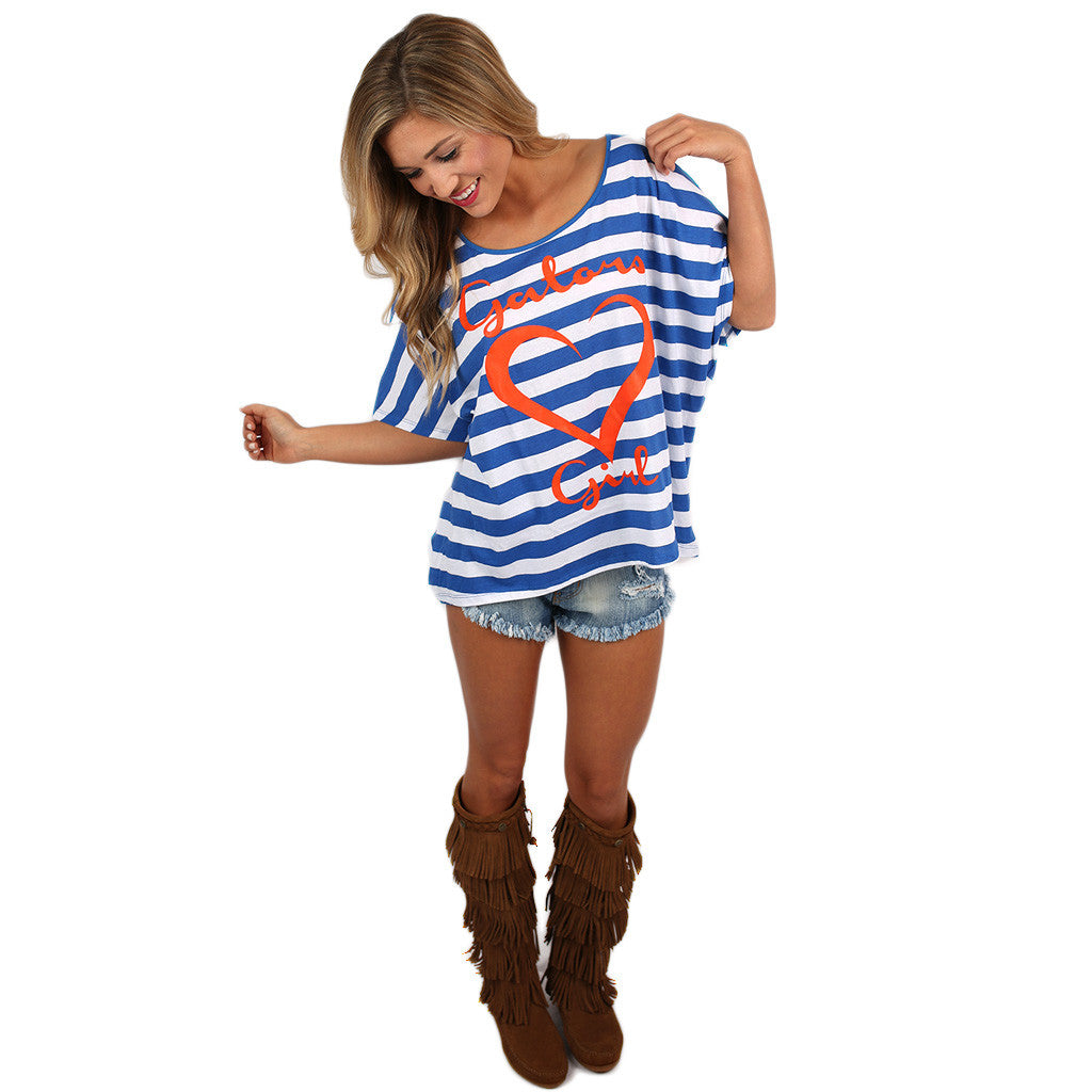 Team Love Dolman Tee University of Florida