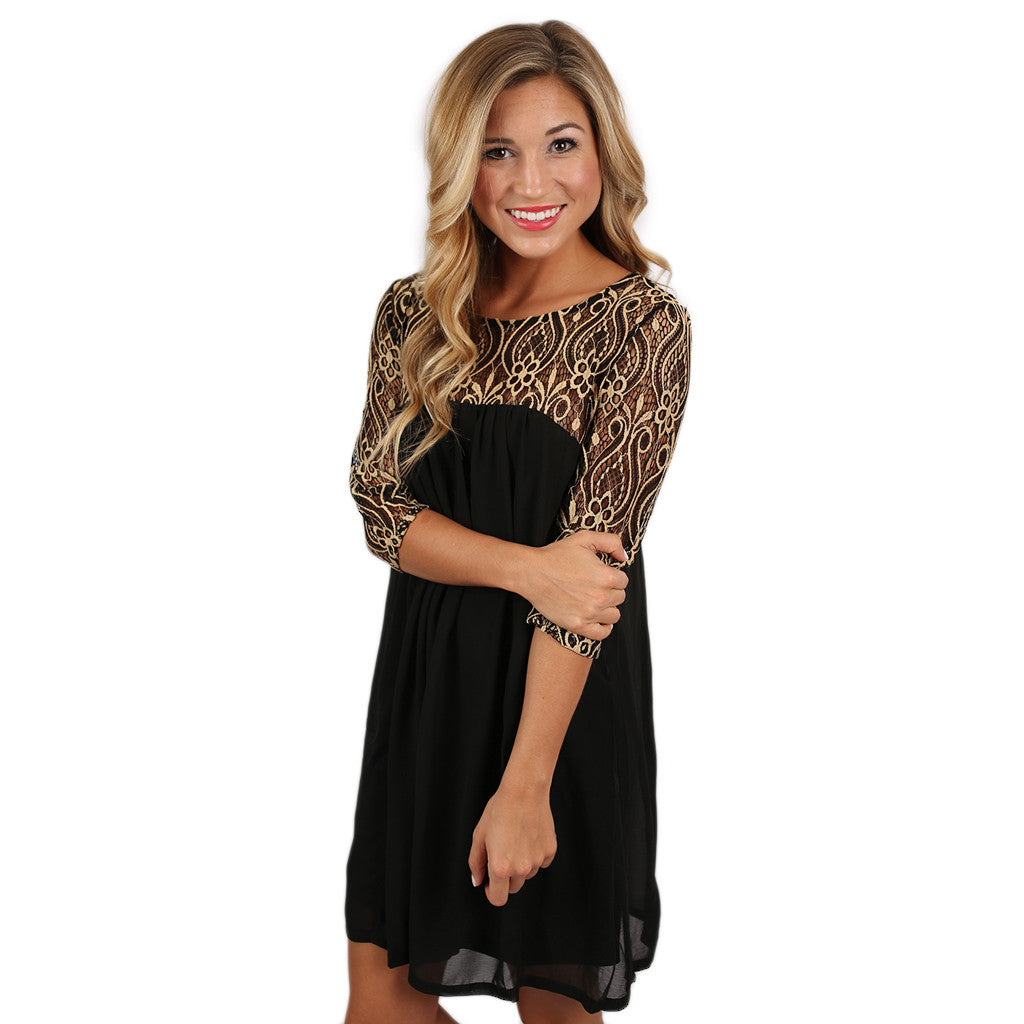 A Night To Cherish Dress in Black