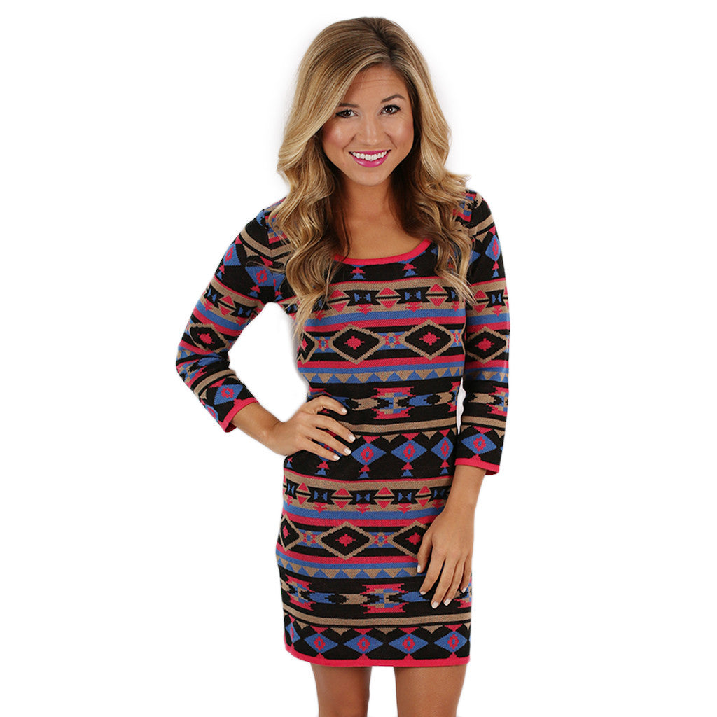 Bliss & Kiss Sweater Dress