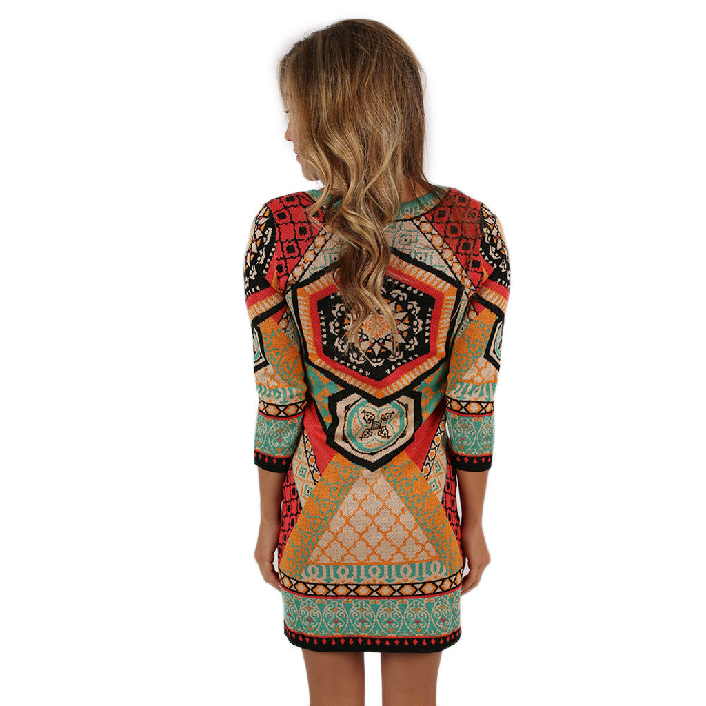 Sweet Serendipity Sweater Dress