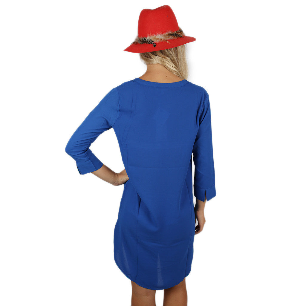 Original Beauty Dress in Royal Blue