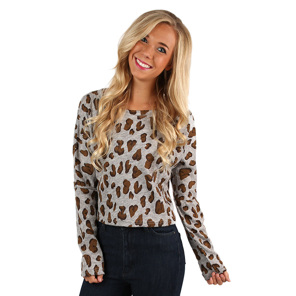 Cheetah Chic Heather Grey