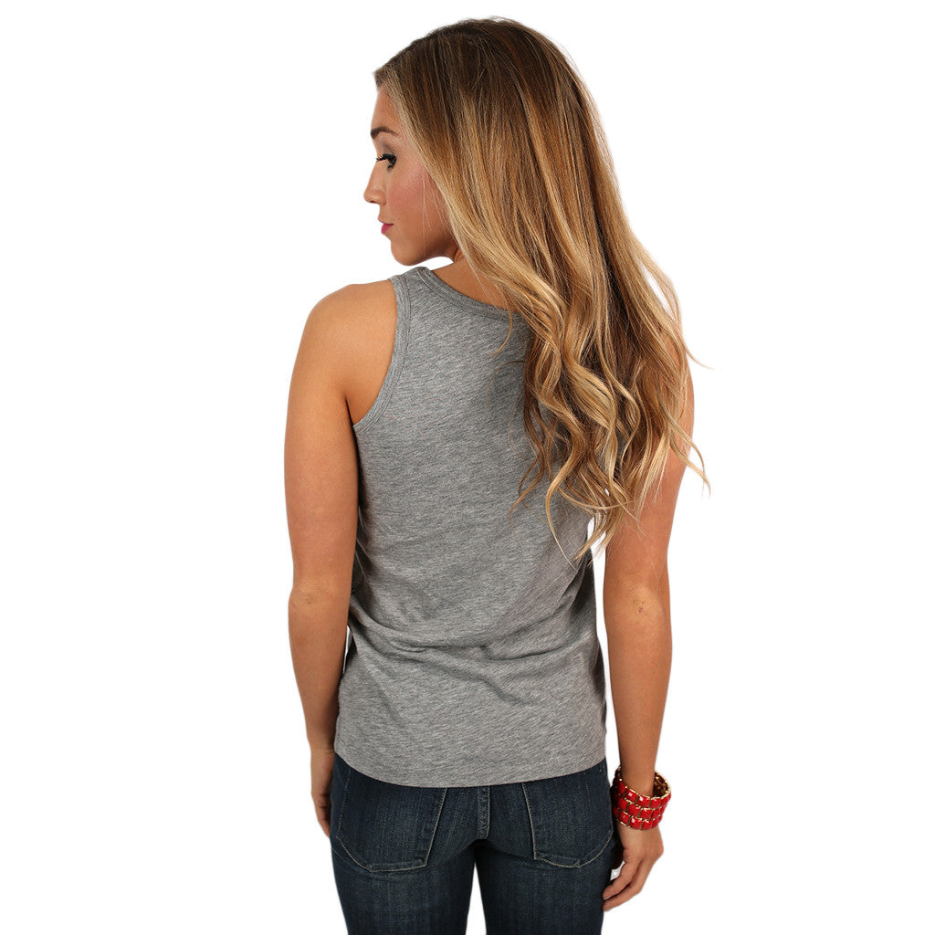 Breezy Tank Distressed HOGS