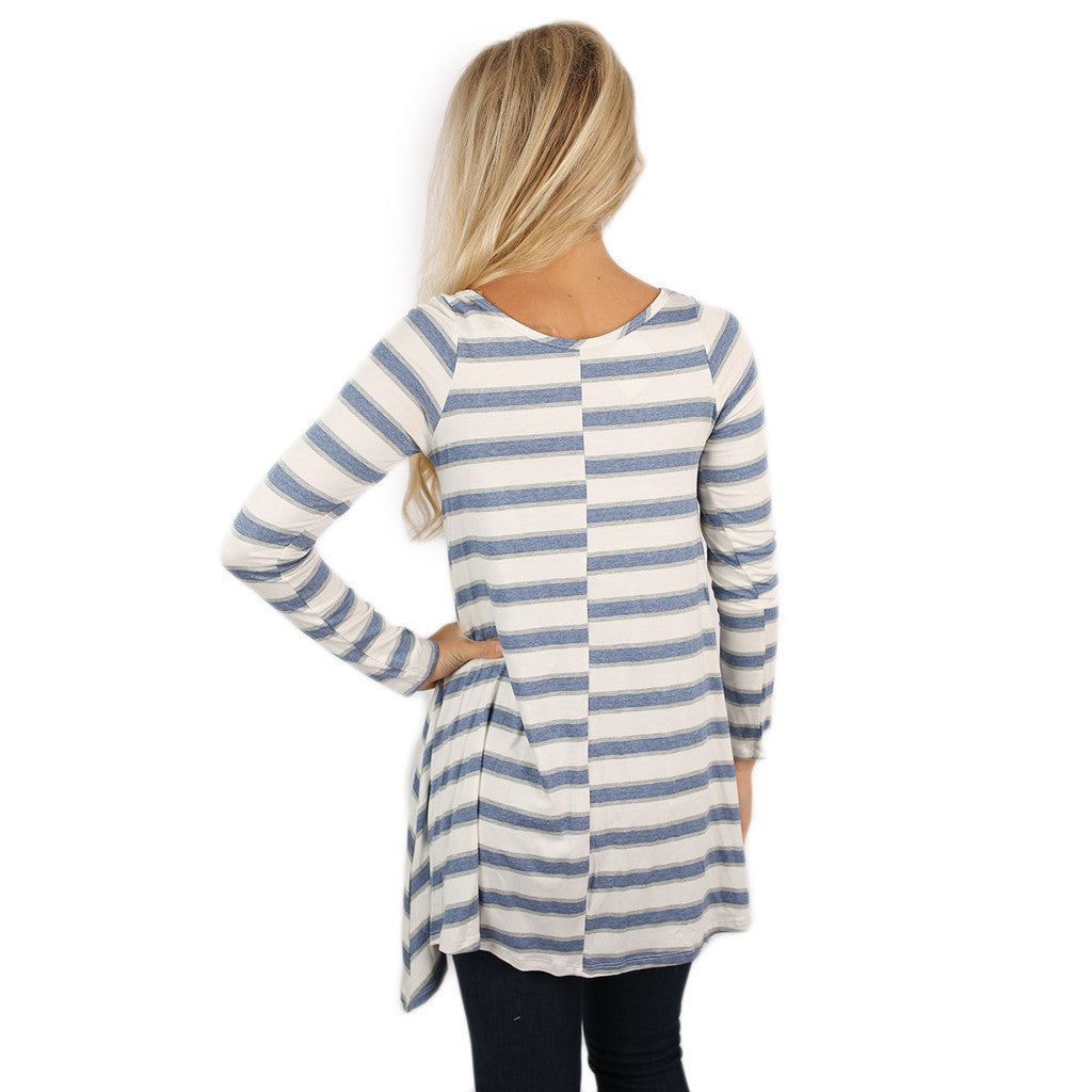 Striped Success Tunic