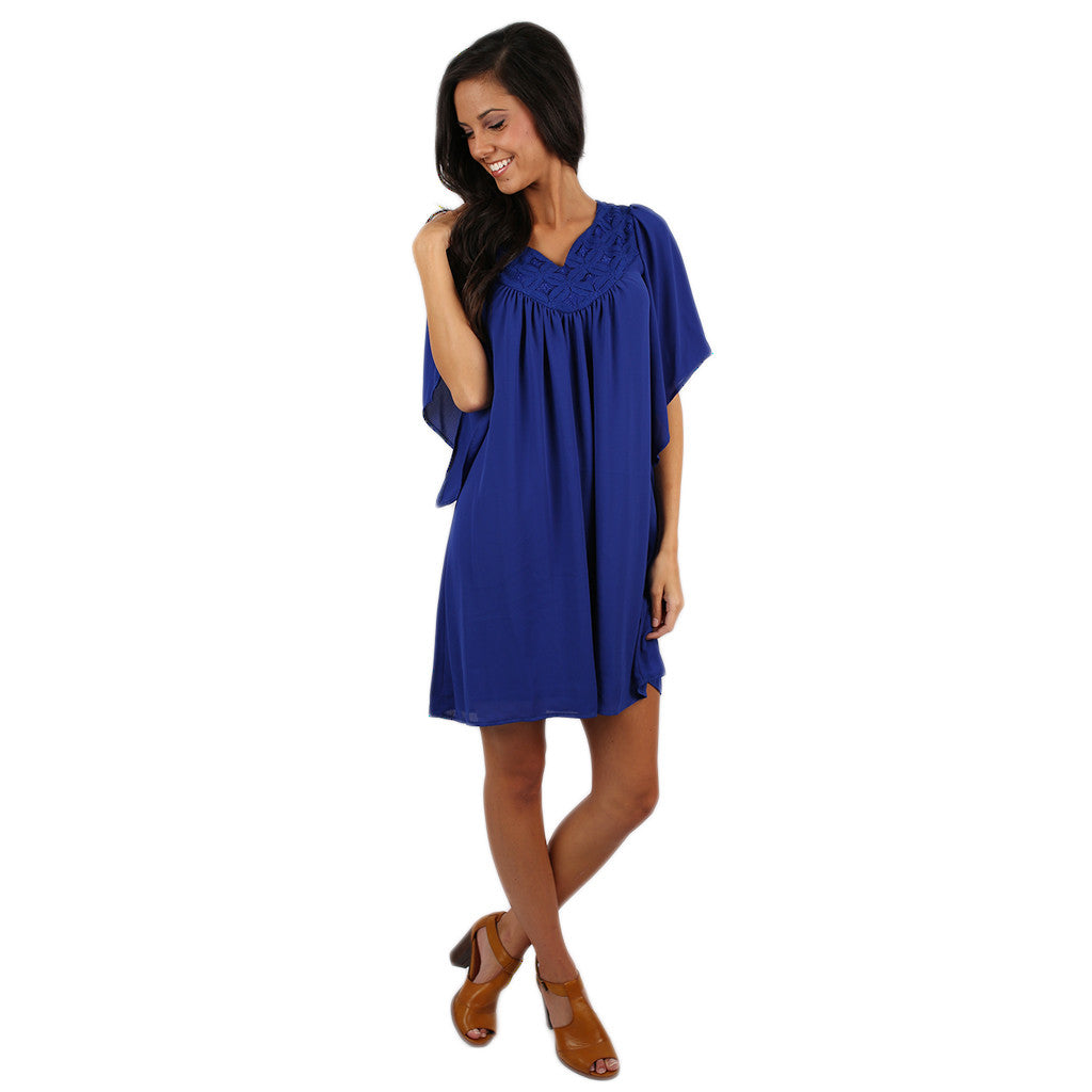 Fashion Forward & Fabulous Dress Royal Blue