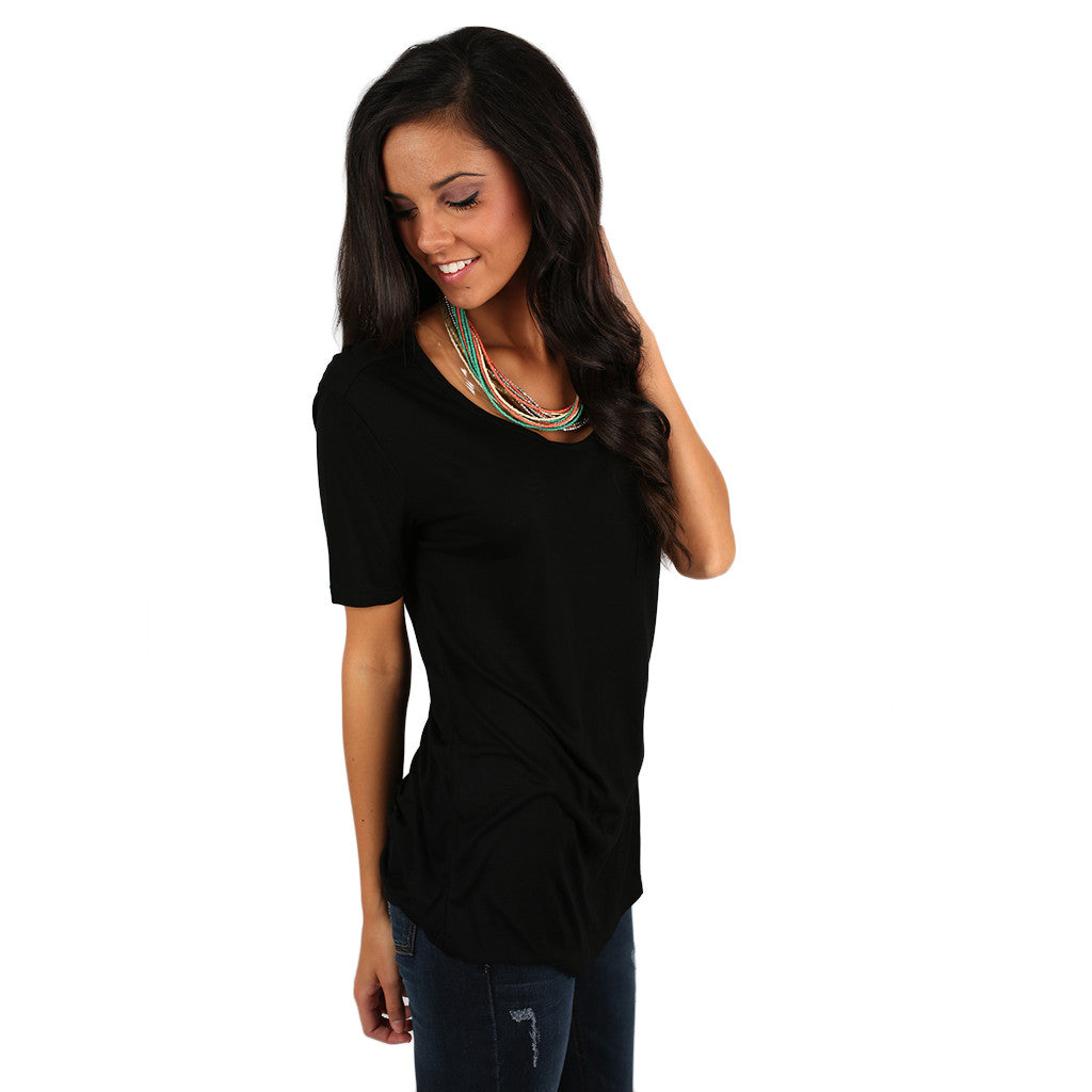 Perfectly Polished Tee Black