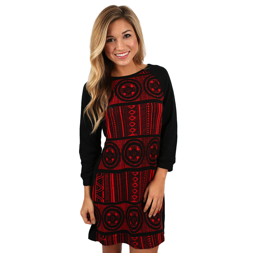 Hit the Slopes Sweater Dress