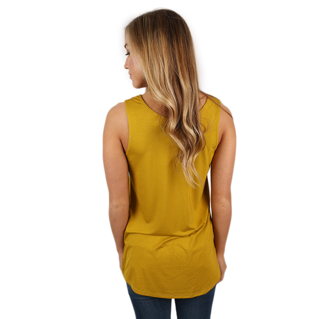 At First Crush Scoop Tank in Pear