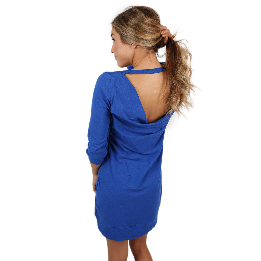 Drape Back Dress University of Florida