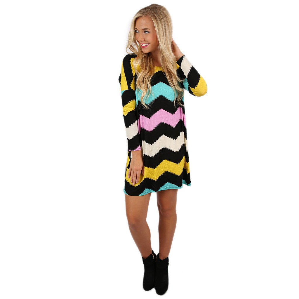 West Coast Dreaming Tunic Black