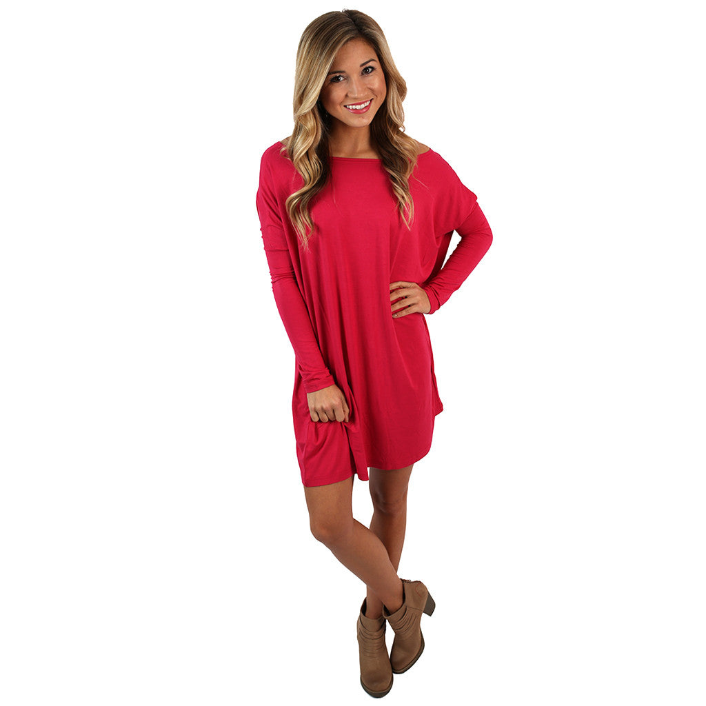 PIKO Tunic in Berry Red
