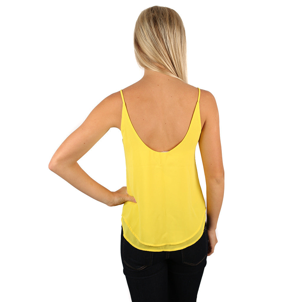 Perfect Go To Tank in Yellow