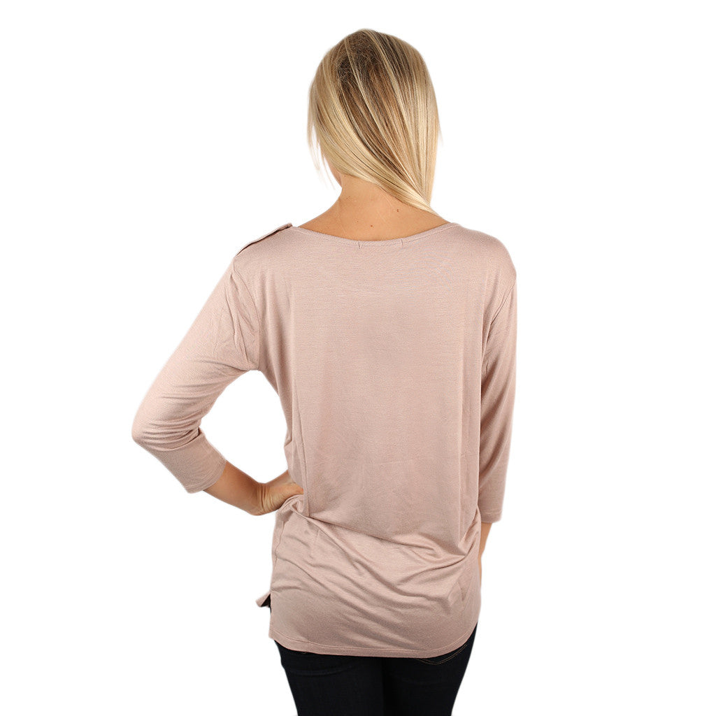 Styled to Perfection Top Nude