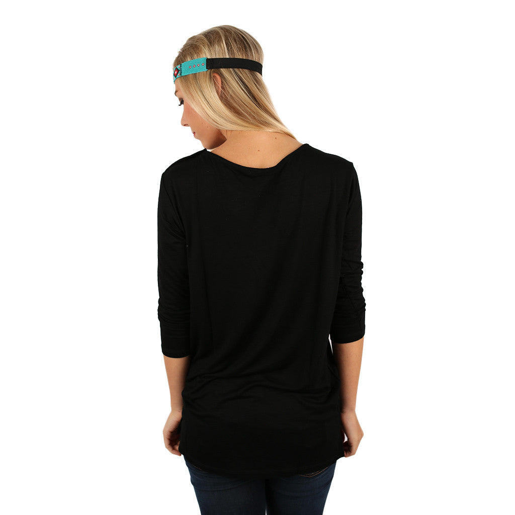 Styled to Perfection Top Black