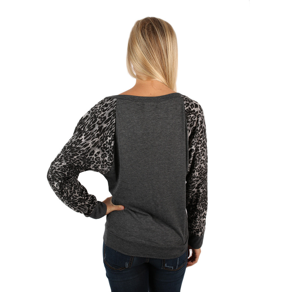 Leopard Sweater Mississippi State