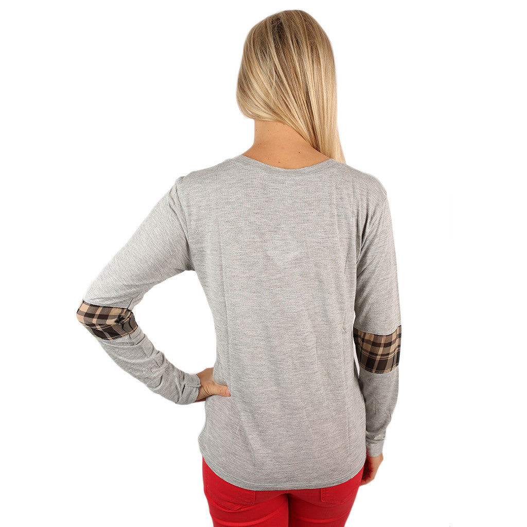 Not Your Boyfriend's Pullover in Heather Grey