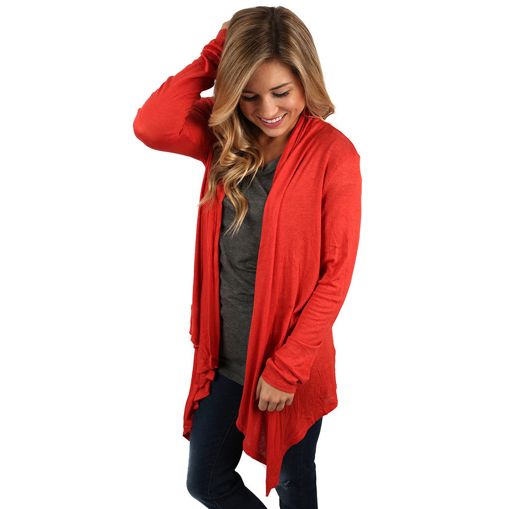 Vail Retreat Cardi Orange