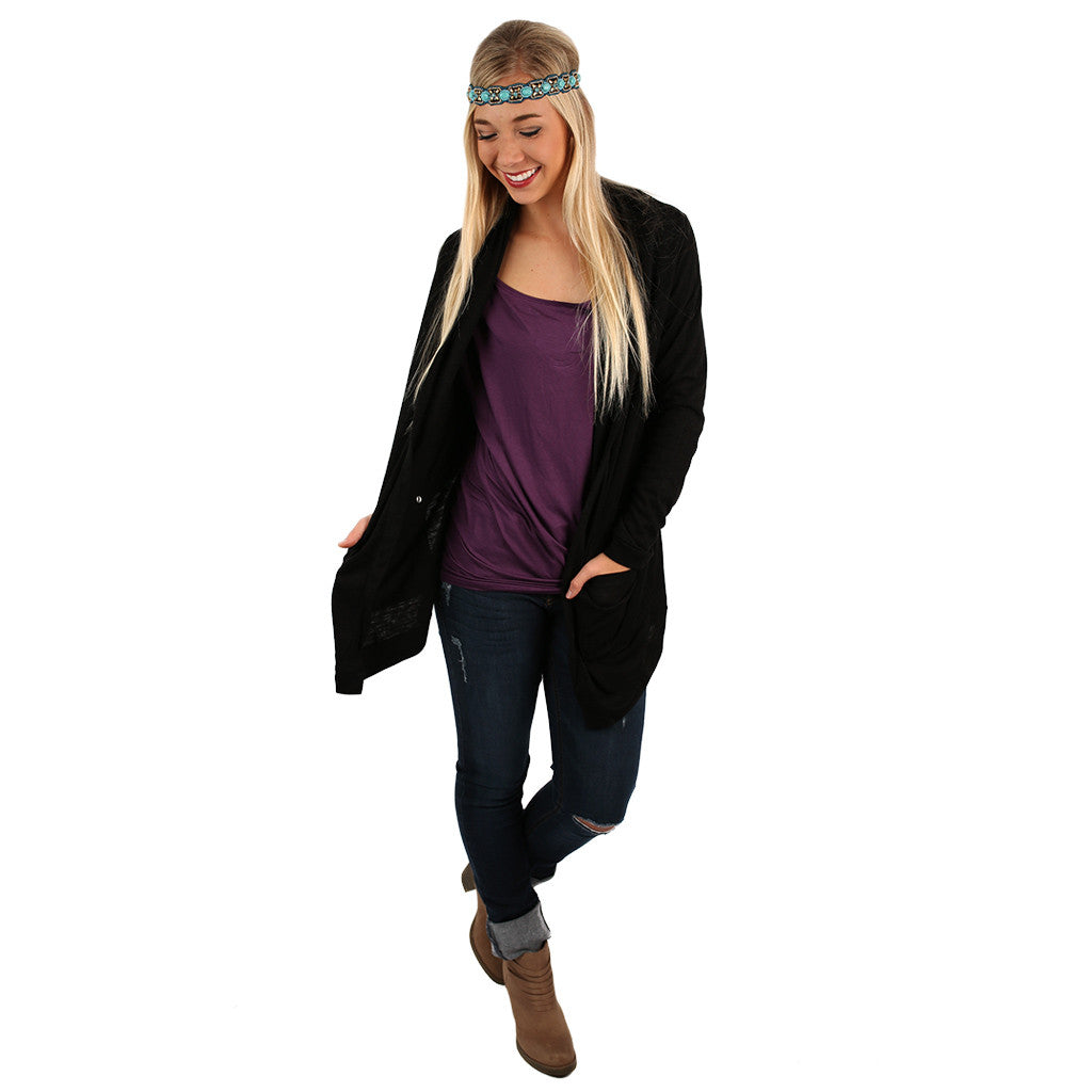 Keeping it Chic Cardi Black