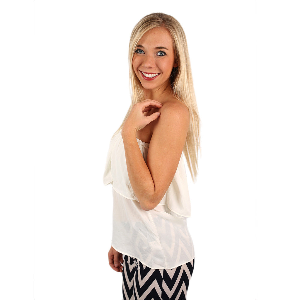 Island Hopping Top in Ivory
