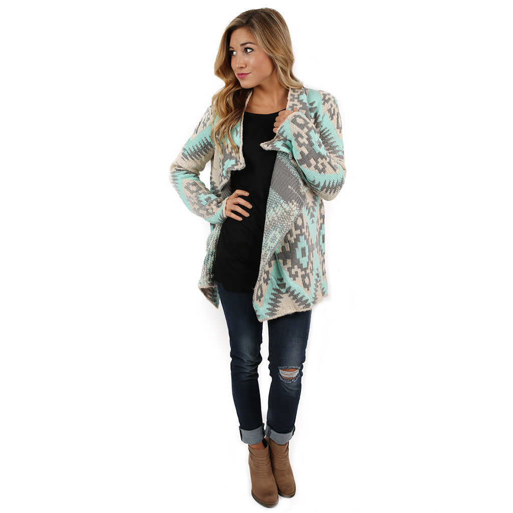 The Cozy Cardigan