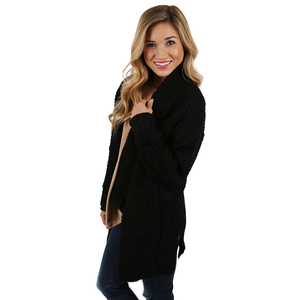 The Go To Cardi in Black