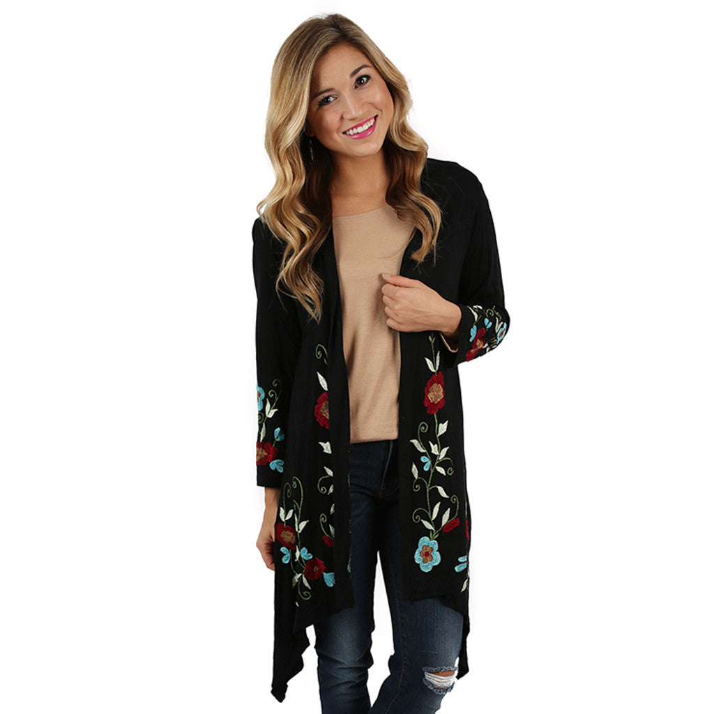 Stroll In The Garden Cardi