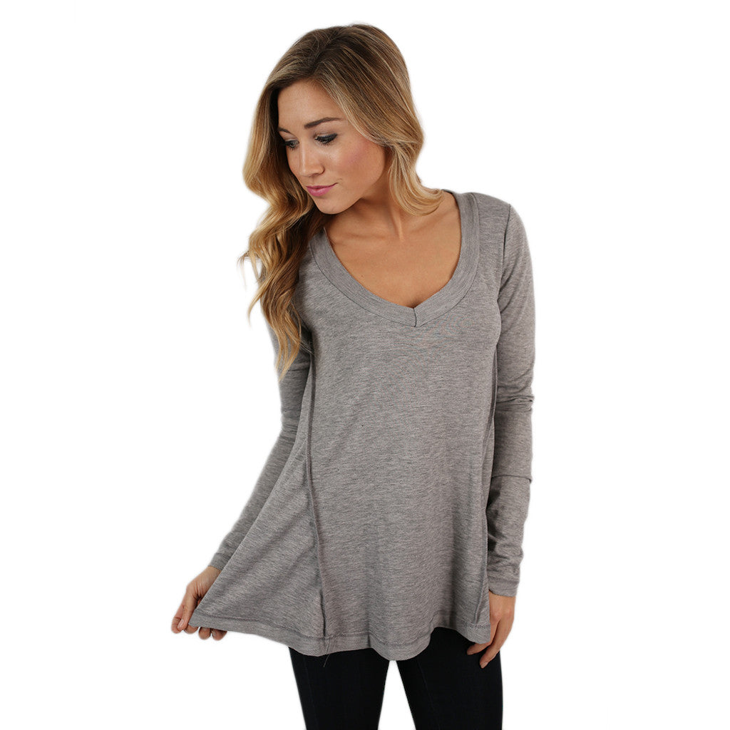 Rae Tunic in Grey
