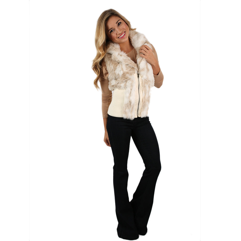 Fancy Life Faux Fur Vest