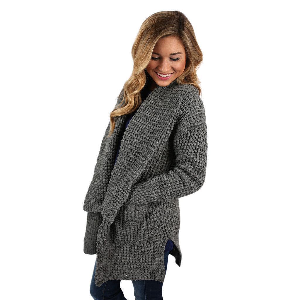 The Go To Cardi in Grey
