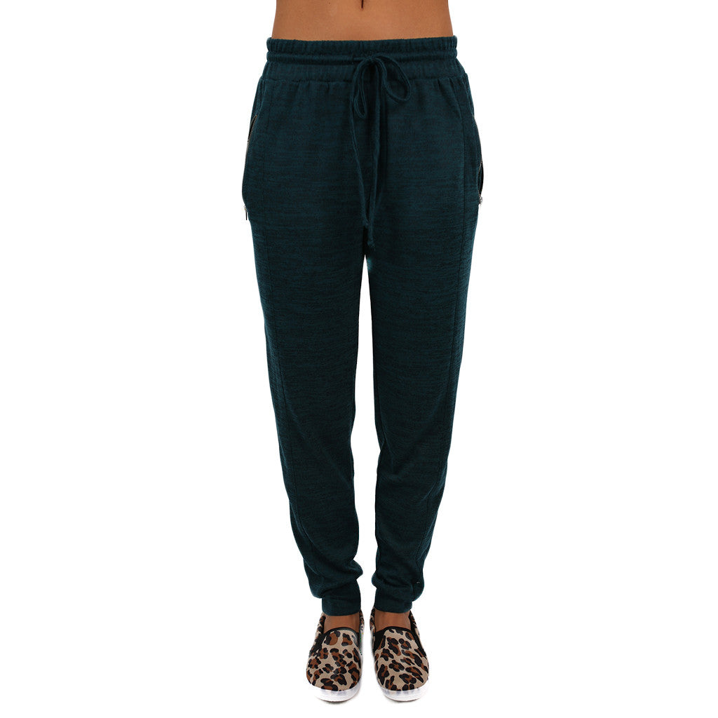 Back to the Basics Pants Teal