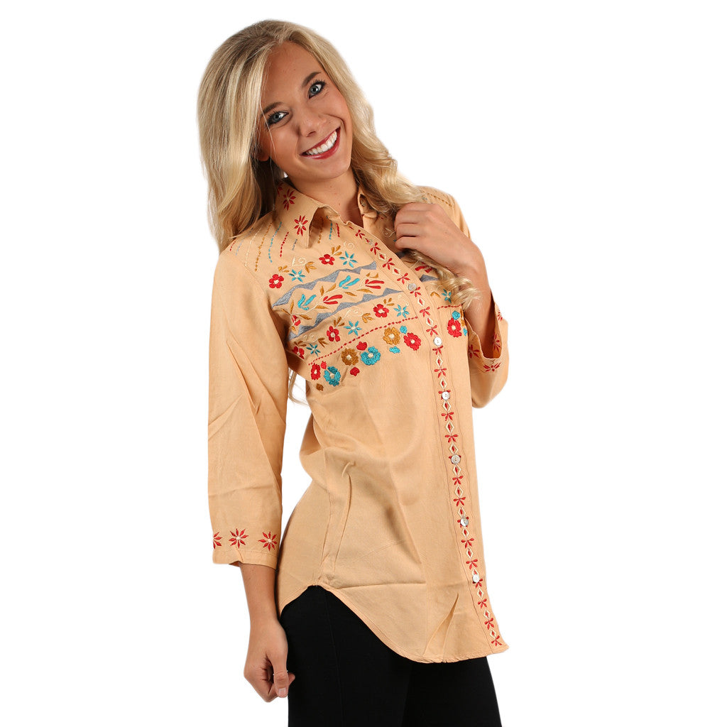 Always Stylish Tunic in Nude