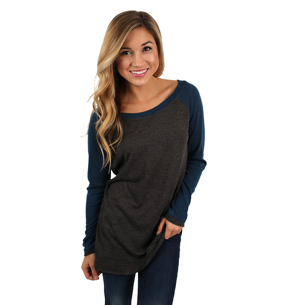 Berlin Tunic in Slate Blue