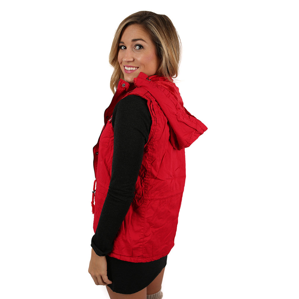Must Be Serendipity Vest Red