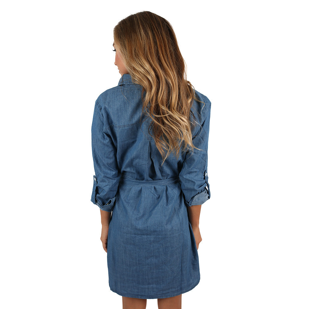 Denim Derby Dress