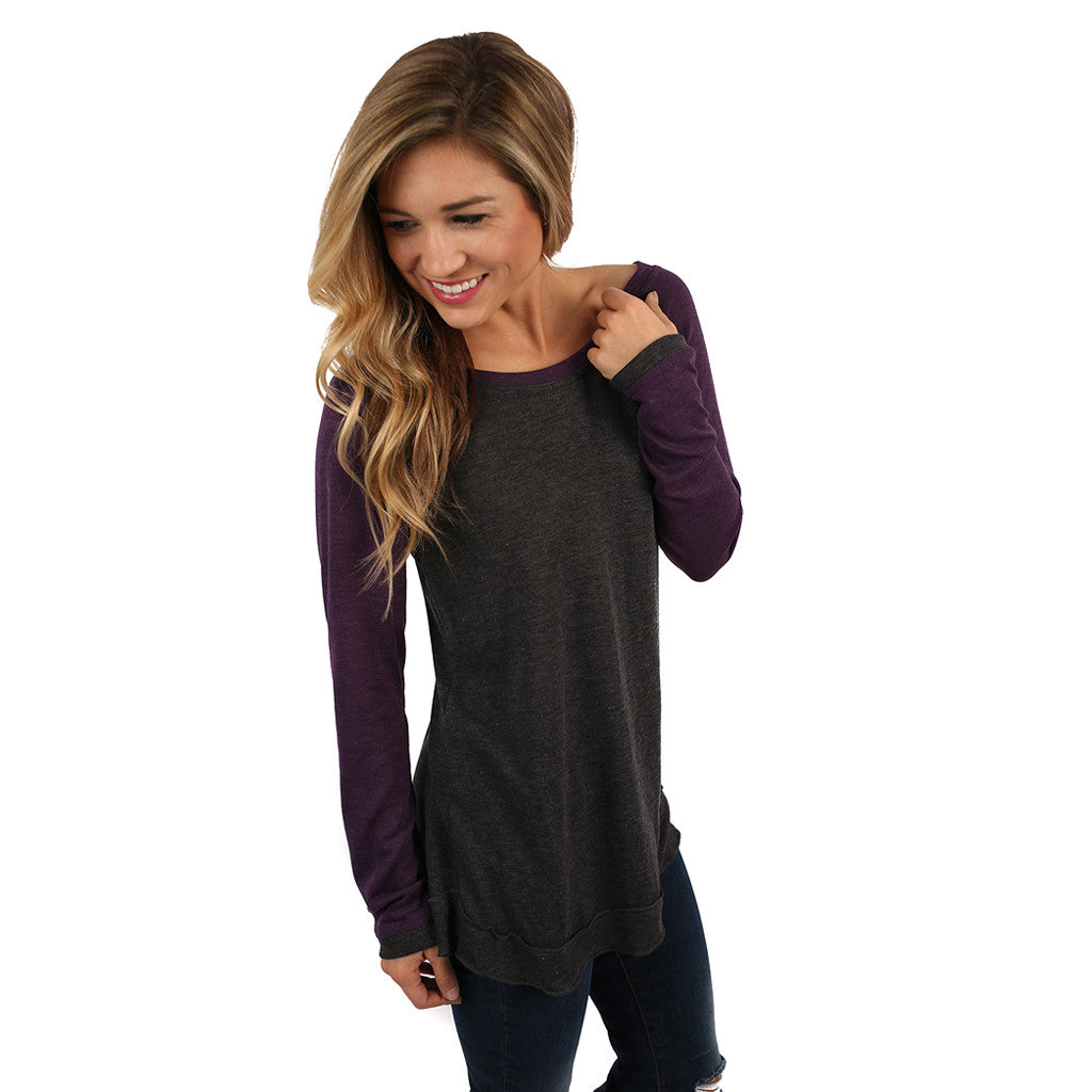 Berlin Tunic in Plum